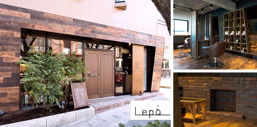 美容室Lepaの施工フロー
