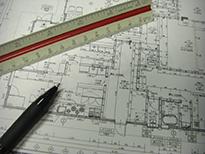 雛形の図面と概算見積